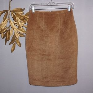 Joe Fresh Faux Fur Pencil Skirt - Size 4